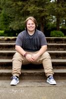 Senior Portrait at Clackamas Community College in Oregon City