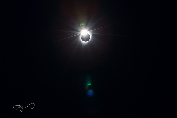 Diamond Ring Solar Eclipse 2017
